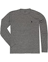 Mens Crew Neck Long Sleeve Tee