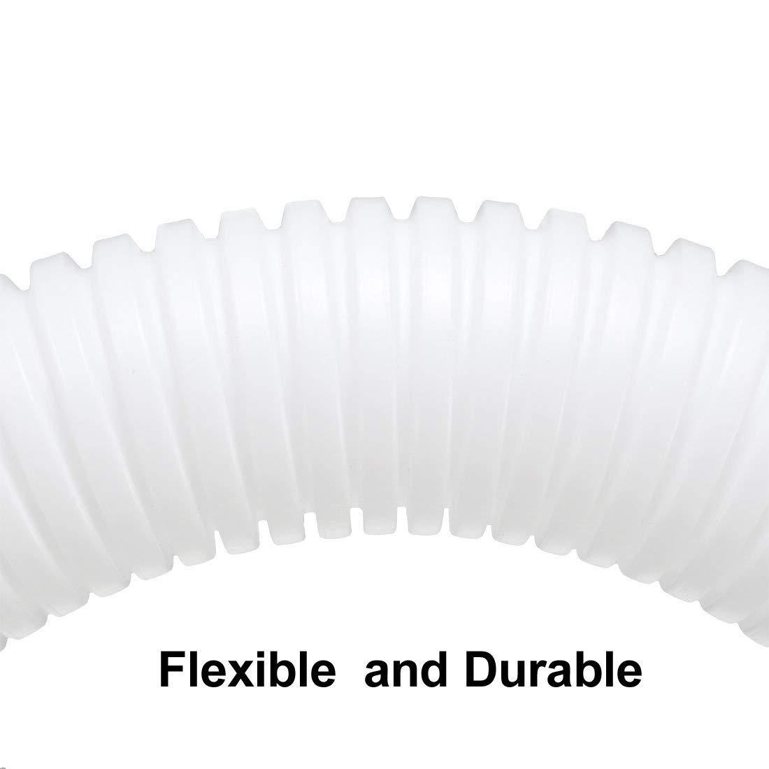 6.6ft Duct Tube Length 7//8-inch ID Corrugated Duct Tube Hose Flexible Tube NA 2m