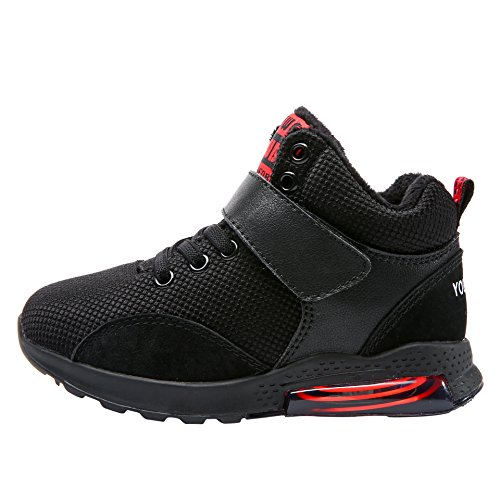 Sneaker Kid Big Support Shoes Athletic Cushioning Comfort Arch Youweb Kid Kid Little Black Running Shoes qn4PwX87