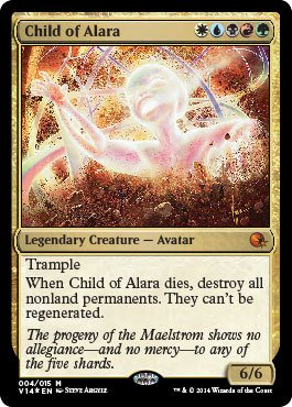 Magic: the Gathering - Child of Alara (004/015) - From the Vault: Annihilation - - Mint Alara