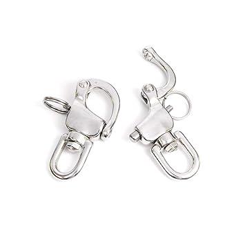 Amazon.com: CooBigo - Juego de 2 piezas de acero inoxidable ...