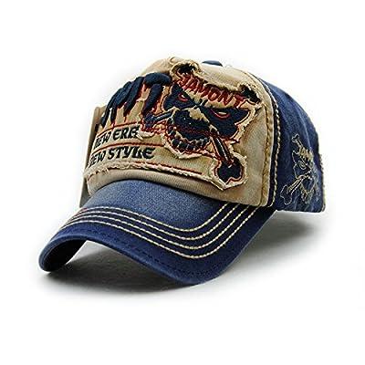 Gorras Beisbol Planas Snapback Caps Wolf Bone Baseball Cap Golf Hats For Men Women Casquette Hip Hop Boys Homme Driver Sun Hat (Number 4 Beige)
