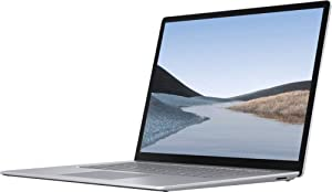 Microsoft Surface Laptop 3 15-inch 128GB (Touch Screen, AMD Ryzen 5 Surface Edition, 8GB RAM, Wi-Fi) Platinum (Renewed)