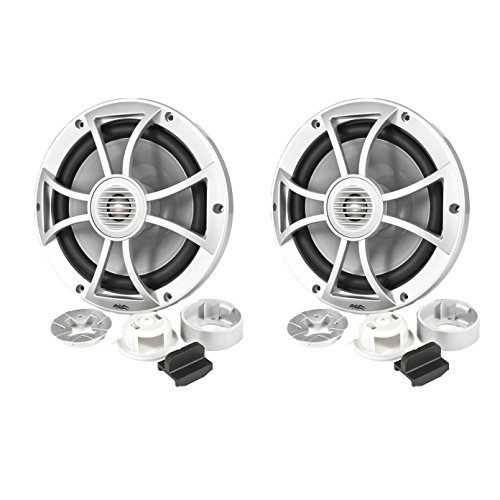 Marine Component Speaker System (Wet Sounds 600W 8 Inch 2-Way Convertible Component Marine Speakers | XS-808-S)