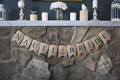Nauti Bride Banner | Nautical Bachelorette Party ()