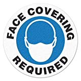"INCOM Manufacturing Group FACE Covering Required Floor Sign (17"" Dia.)"
