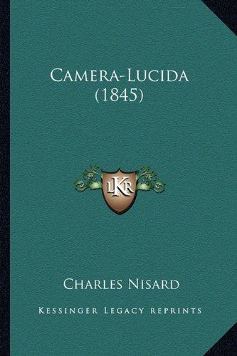 Camera-Lucida (1845) (French Edition)