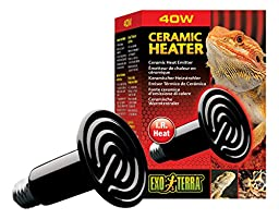 Exo Terra Ceramic Heater, 40-Watt/110-Volt