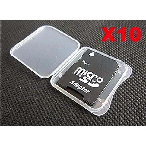 - 51JcHBF0USL - MemoryPack SD MMC/SDHC PRO Duo Memory Card Plastic Storage Jewel Case (10 Pieces)