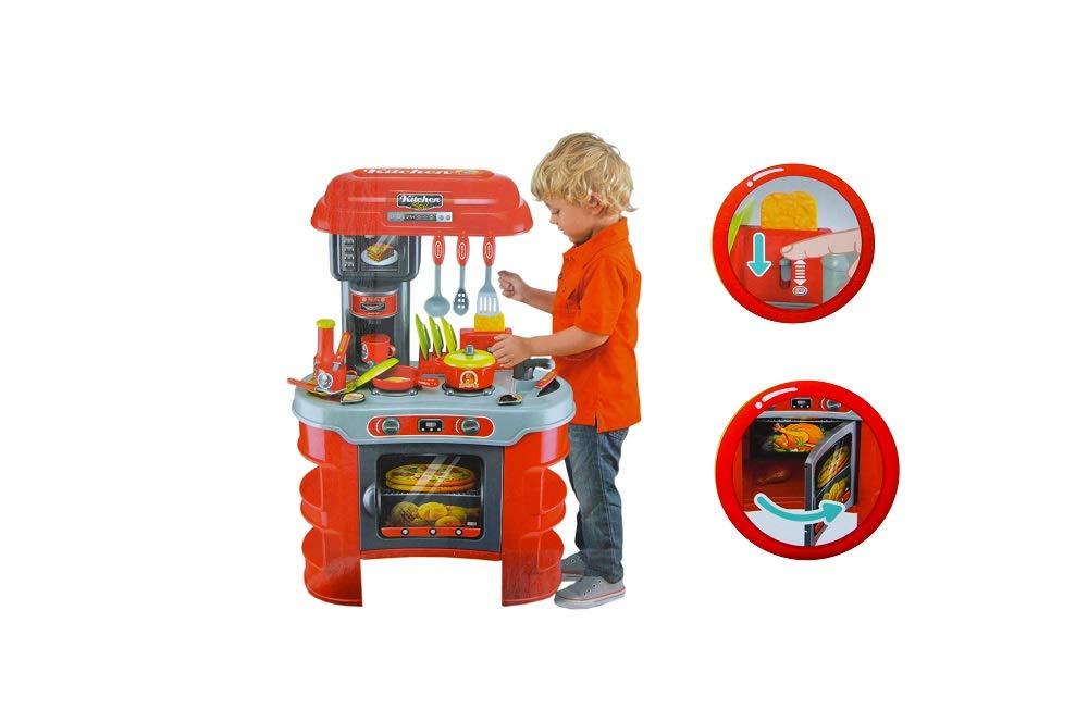 Amazon.com: Jimmy\'s Toys Toy Kitchen Set for Kids: Toys & Games