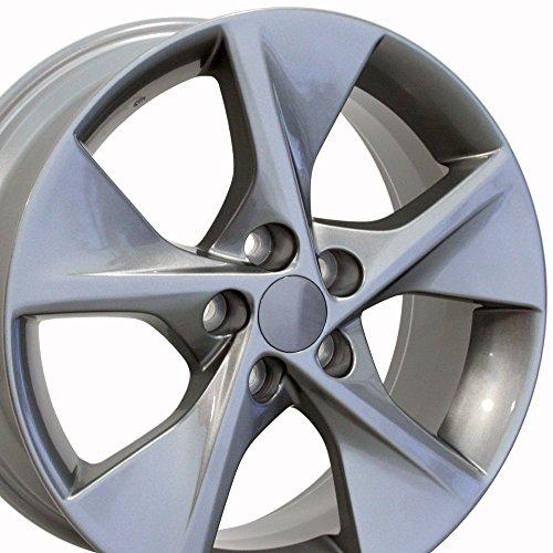 18x7.5 Wheel Fits Toyota - Camry Style Gunmetal Rim, Hollander 69605 (Toyota Alloy Wheel Rav4)