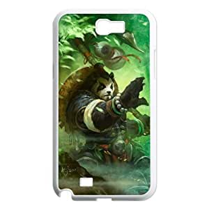 Samsung Galaxy Note 2 White phone case World of Warcraft Chen Stormstout WOW8643904