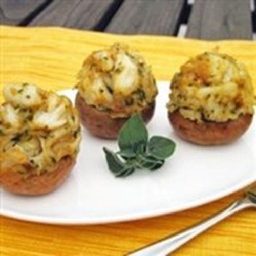 Today Gourmet - Crab Stuffed Mushroom Caps (24 Caps) by Ma_Mush