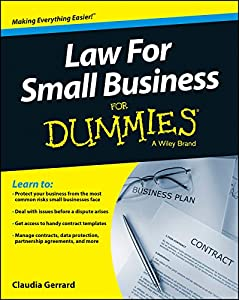 Law For Small Business For Dummies from Wiley