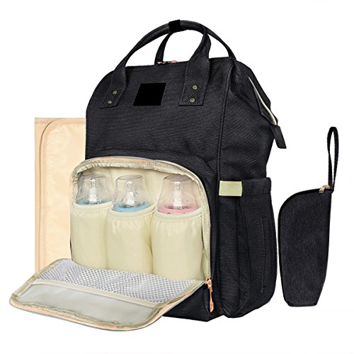 All in One Multifunction Diaper Bag Backpack Baby Nappy Bag