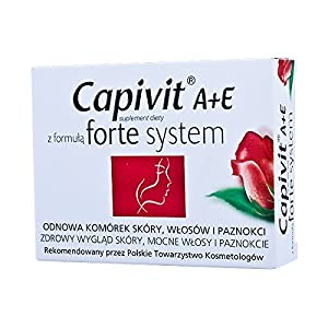 CAPIVIT A+E forte system – 30 capsules – supports and stimulates the natural process of skin…
