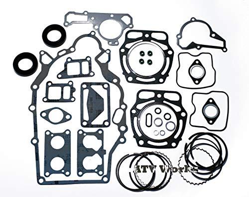 Kawasaki Mule KAF620 Engine Rebuild Kit with Piston Rings OEM # 13001-2210
