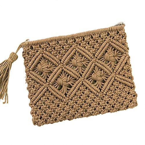 Bag Handbag Clutch ����` Bag Casual Purse Straw Fashion Women Flap Daliuing Summer Crossbody Straw zCqZwI