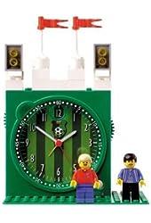 LEGO Kids' 4193357 Soccer Stadium Clock