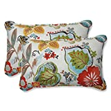 Cheap Alatriste Ivory Rectangular Throw Pillow (Set of 2)