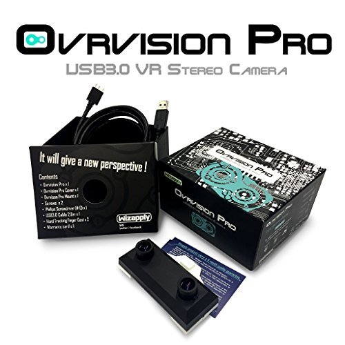 Ovrvision Pro : Stereo Camera for HTC Vive & Oculus Rift