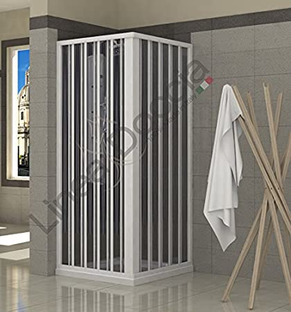 Mampara de ducha plegable de PVC, 2 lados, 70 x 90 cm: Amazon.es: Bricolaje y herramientas