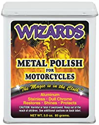 Wizards 22011 Metal Polish for Motorcycles - 3 oz.