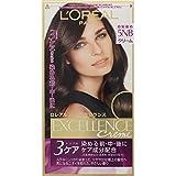 ロレアル パリ ヘアカラー 白髪染め エクセランス N クリームタイプ 5NB 自然な栗色