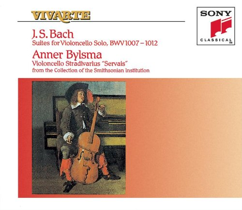 Bach: 6 Suites for Cello, BWV 1007-1012 by Sony