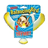 Defy gravity and amaze your friends with the magic balancing bird! try balancing it on a pencil, the corner of a counter, your computer monitor practically any surface. use to demonstrate how gravity works in a classroom setting.