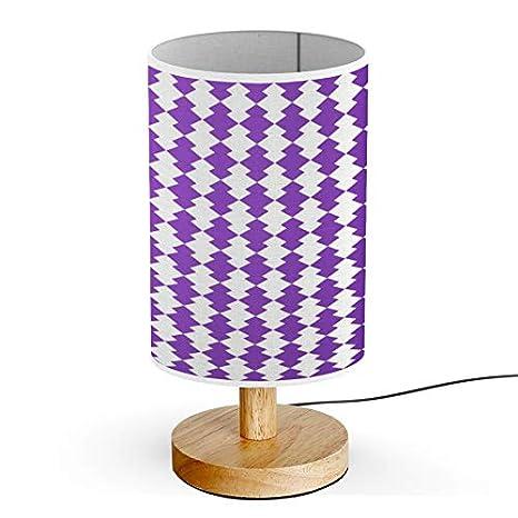 Artsylamp Wood Base Decoration Desk Table Bedside Light Lamp