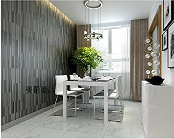 Tapete Fototapete Wallpaper 3D schwarz grau Vliestapete Esszimmer ...