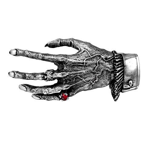 (Alchemy Gothic Nosferatus Hand- Belt Buckle - Metallic - One Size )