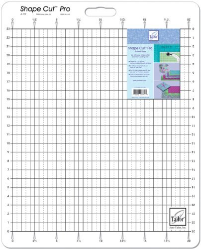 Shape Cut Pro Ruler-20''X23'' 1 pcs sku# 642456MA by June Tailor