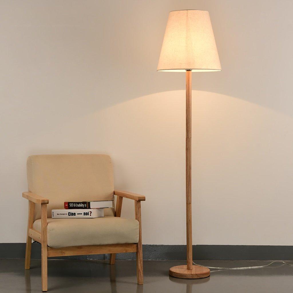 FGLDD Dormitorio Creativo Moderno de Madera Real Lámparas de ...