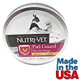 Dog Paw Wax Natural Paw Protection Helps Prevent Pad Injury from Nutri Vet 2 oz Made in USA