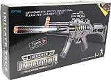 JOYSAE Light Up Combat Toy Machine Rifle Battery