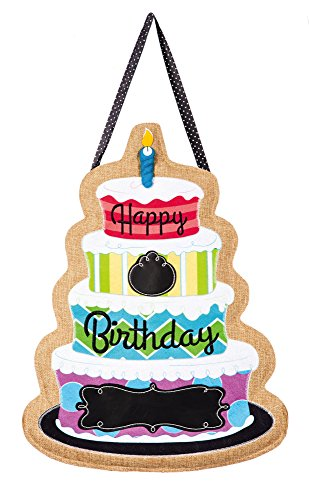 Happy Birthday Door Hanger (Hangers Spring Door)
