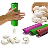 1pc Magic Silicone Garlic Peeler Peel Easy Useful Kitchen Tools (Random Color)