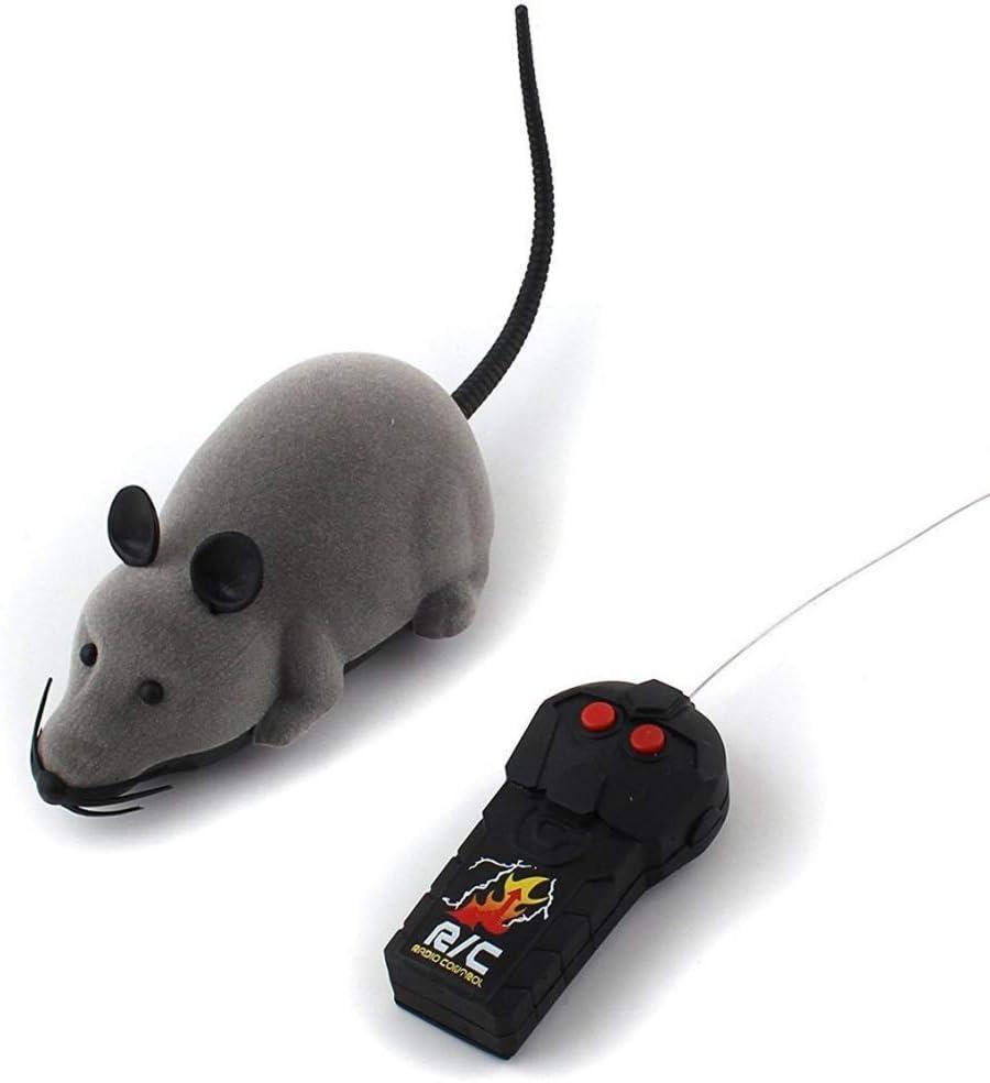 2pcs Maus Simulationsmäuse Natürlicher Fluorit Elektronische Ratte