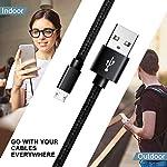 SUCESO-Cavo-Micro-USB-1m2m2m3-Pezzi-Cavo-USB-Micro-USB-Cavo-Android-Rapida-Nylon-Intrecciato-Compatibile-con-Samsung-S7-S6-J5-J7-A5-A7HuaweiKindleNexusLite-P9-P8-XiaomiLG-G4PS4HTC-Nero