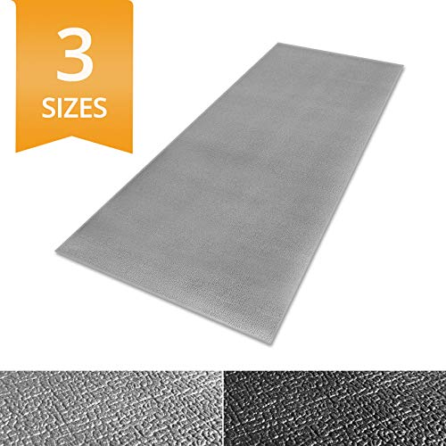Ergocell Kitchen Anti Fatigue Mat - Memory Foam Kitchen Mat | Ergonomically Engineered Standing Desk Mat for Promoting Comfort at Home & Office | Two Colors Available | Gray - 17