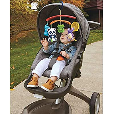 Fisher-Price On-the-Go Stroller Mobile : Baby