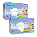Baby : Lansinoh Nursing Pads, 2 Packs of 100 (200 Count) Stay Dry Disposable Breast Pads