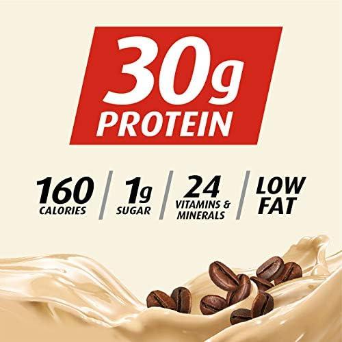Premier Protein 30g Protein Shake, Cafe Latte, 11.5 Fl Oz, Pack of 12, Café Latte 3