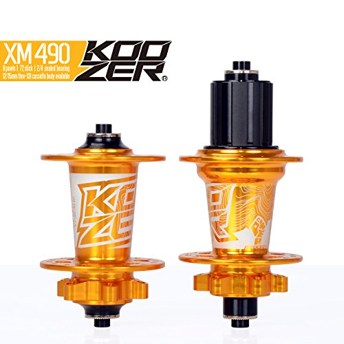 OEM KOOZER XM490 Bicycle Hub 32H Front&Rear MTB/Road 9x100MM 10x135MM ()