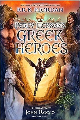 Percy Jackson S Greek Heroes Rick Riordan John Rocco