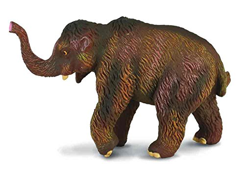 CollectA Prehistoric Life - Woolly Mammoth Calf Toy Figure - Authentic Hand Painted & Paleontologist Approved - Scales Tooth Mammoth