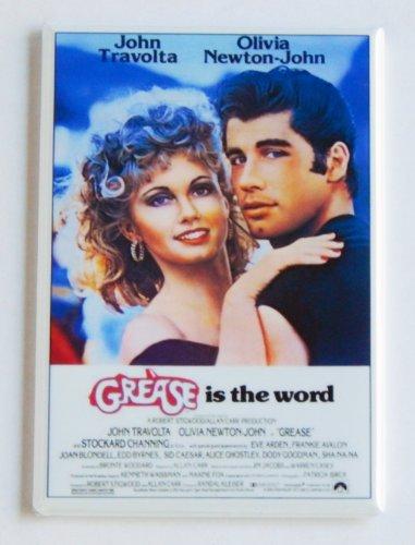 Grease Movie Poster Fridge Magnet