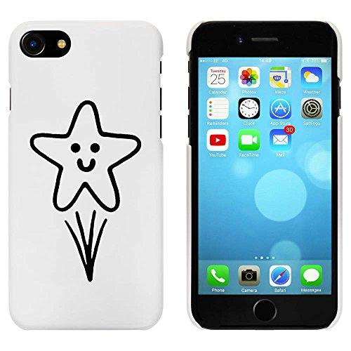 Blanc 'Étoile Filante' étui / housse pour iPhone 7 (MC00088281)